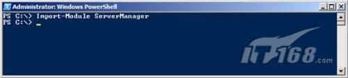 导入Windows PowerShell